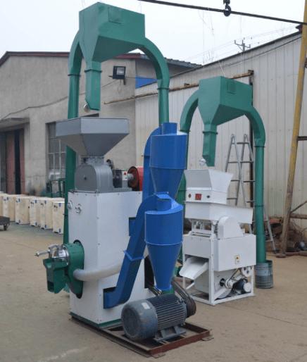 Mini rice mill plant