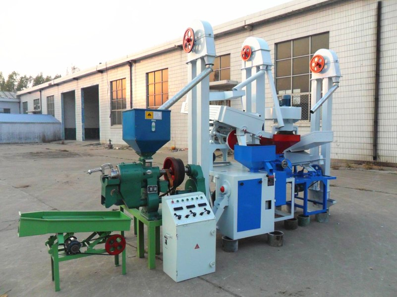 15T/D rice mill prodution plant