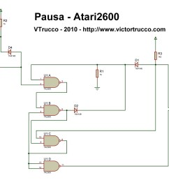 a pause button for the atari 2600 atari 2600 console atari 2600 wiring diagram [ 1280 x 900 Pixel ]