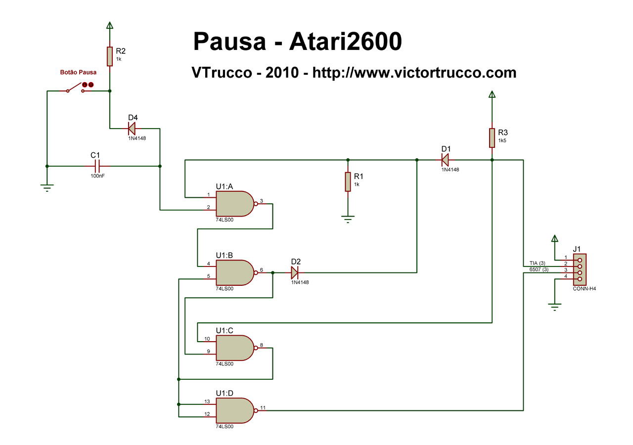 hight resolution of a pause button for the atari 2600 atari 2600 console atari 2600 wiring diagram