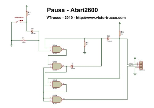 small resolution of a pause button for the atari 2600 atari 2600 console atari 2600 wiring diagram
