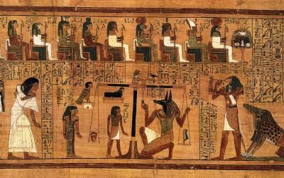 Los egipcios llegaron a utilizar cobre en la composición de la tinta