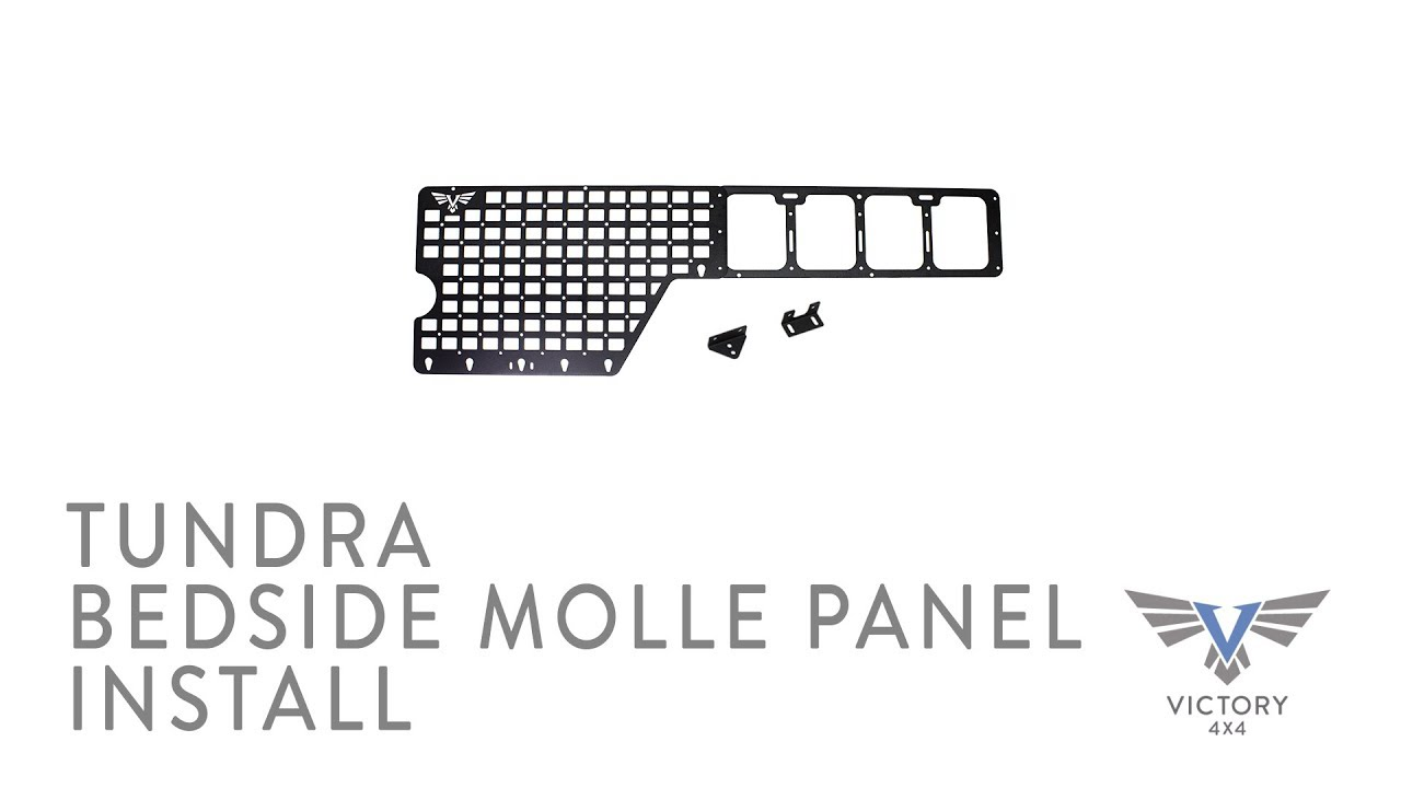 Tundra Bedside MOLLE & Accessory Panel Installation