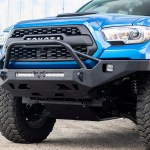 Tacoma Front Winch Bumper Strike 3rd Gen 16 Victory 4x4
