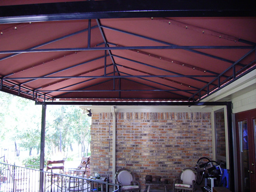 Awnings DallasFort Worth Residential Fabric  Canvas