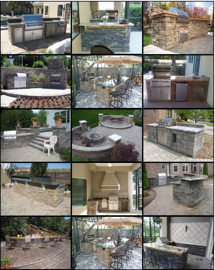 outdoor kitchens kits 4 piece kitchen appliance package easy to assemble victory greens kit boise