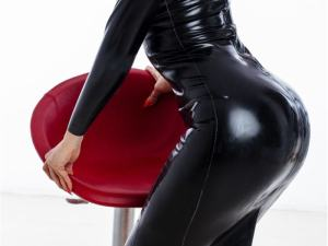 latex chat rooms, sexy girl in PVC