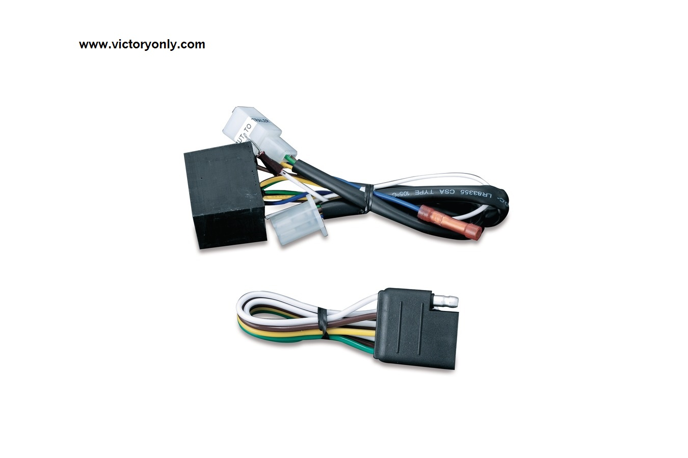 hight resolution of 5 to 4 wire converter for kuryakyn trailer wiring harness victory7675 5 to 4 wiring trailer