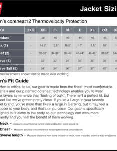 How to measure for gerbing jackets and vests properly the measuring process is very important also victory motorcycle heated jacket liner only rh victoryonly