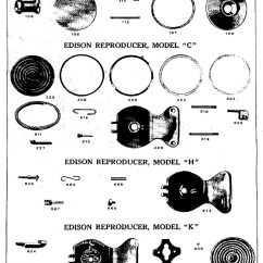 What Is A Bar Diagram 2008 Nissan Altima Wiring Reproducers, Recorders & Sound Boxes – Great Lakes Antique Phonographs