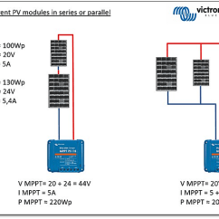 Wiring Diagram Solar Panel Installation Atm Component Uml 20 Watt For Panels Great Of Connecting Different Sized Victron Energy Pv Modules Series Or Rh Victronenergy Com System Electric