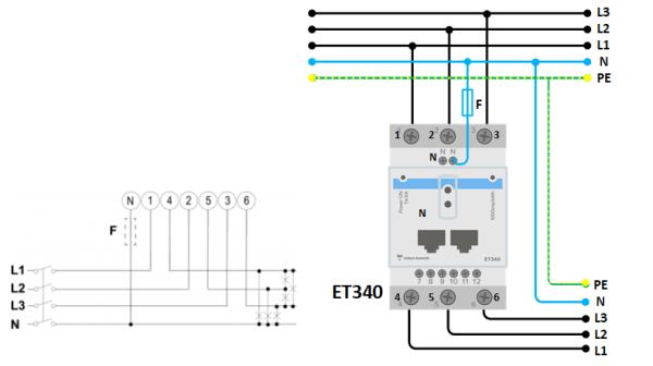 Energy Meter ET340 manual [Victron Energy]
