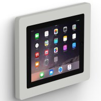 Fixed Slim Wall iPad 2, 3 & 4 Tablet Mount - Light Grey