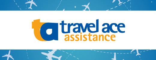 Proteção de bagagem com a Travel Ace