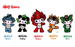 Mascotes da Olimpíada