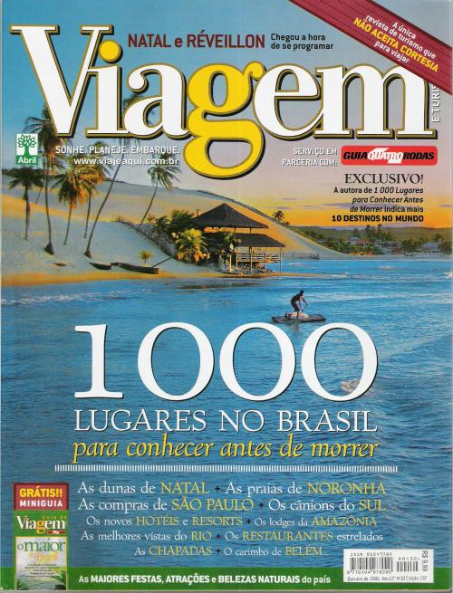 Revistas de viagem e turismo