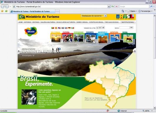 Sites guias de turismo - Ministério do Turismo