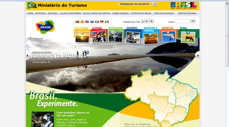 Sites guias de turismo