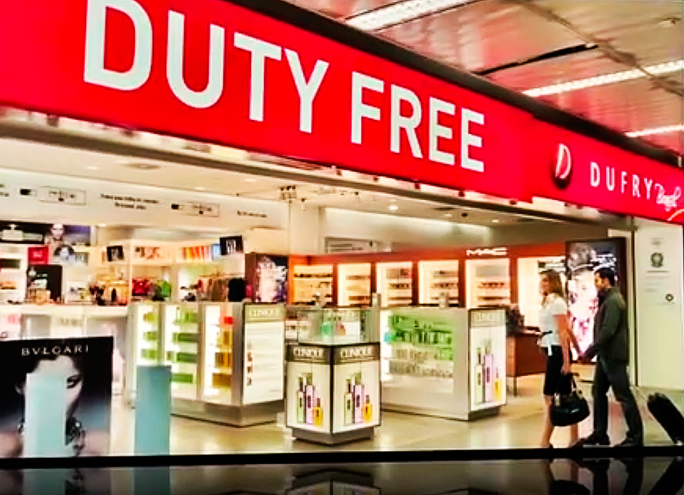 Tschechien Duty Free Shop