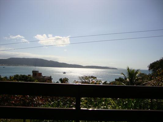 Vista da Pousada Palmeiras - Bombinhas - SC