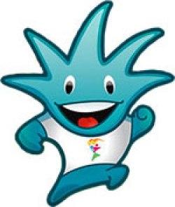 Mascote Gavo - Panamericano - Guadalajara