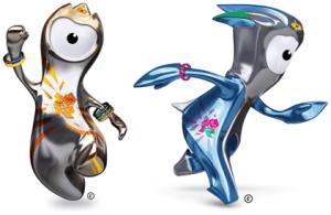 Mascotes da Olímpiada