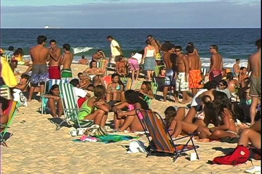 Dia de praia em Ipanema