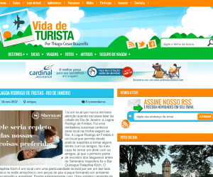 Novo layout do blog