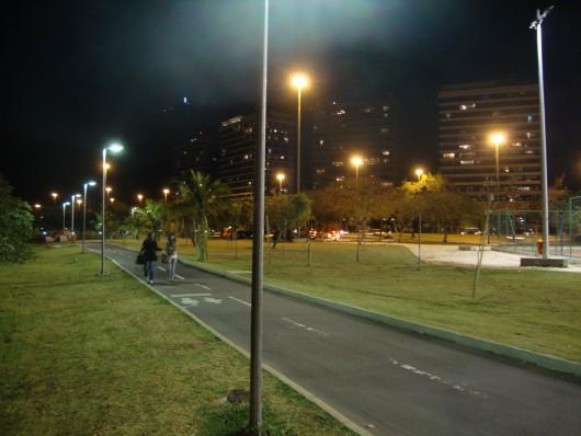 Lagoa Rodrigo de Freitas à noite