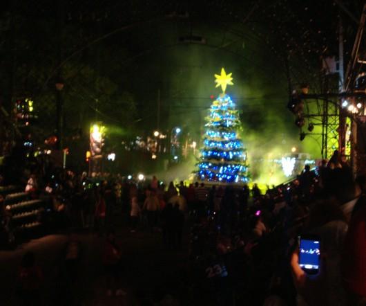 Acendimento das Luzes - Desfile de Natal