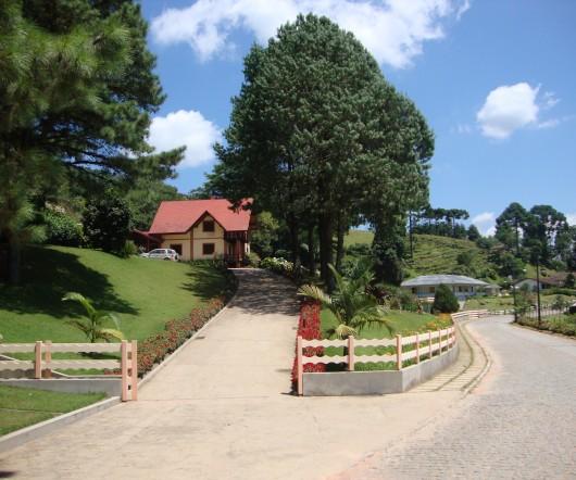 Casas e Jardins - Rio dos Cedros - SC