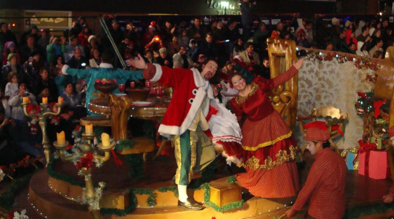 Teatro - Desfile de Natal