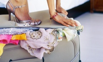Como arrumas as malas de viagem femininas