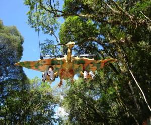 Pterodáctilo - Parque Terra Mágica Florybal - Canela - RS