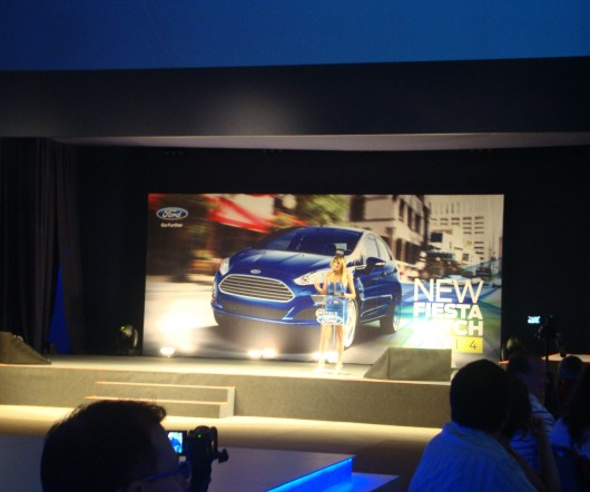 Evento do Ford New Fiesta 2014