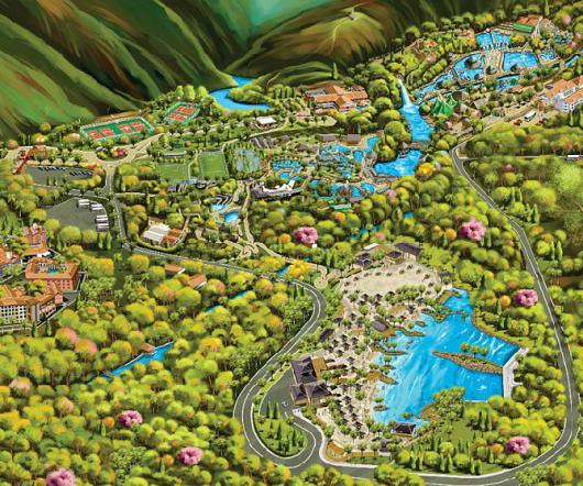 Mapa do Hot Park