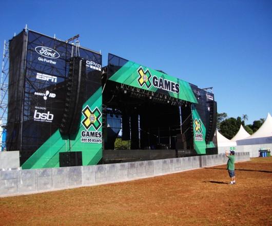 Palco de shows - X-Games
