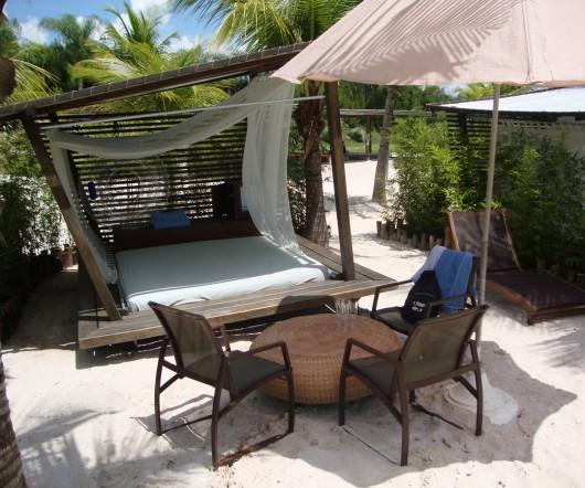 Área VIP na Praia do Cerrado