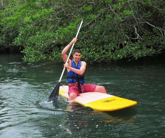 Começando o stand up paddle