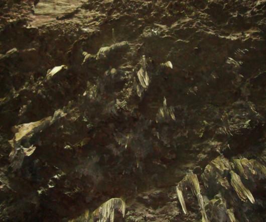 Vista de Marte - Gruta do Lago Azul