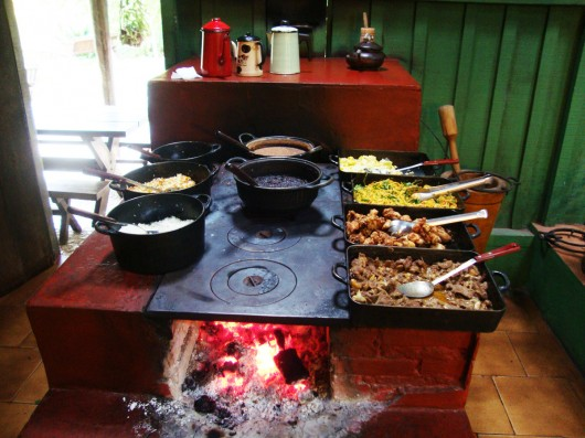 Almoço na Estância Mimosa