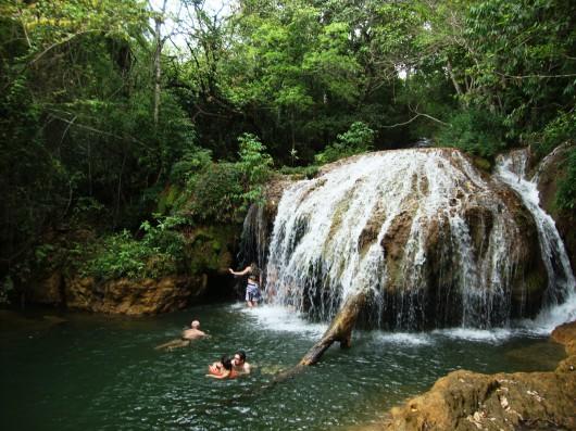 Cachoeiras - Estância Mimosa