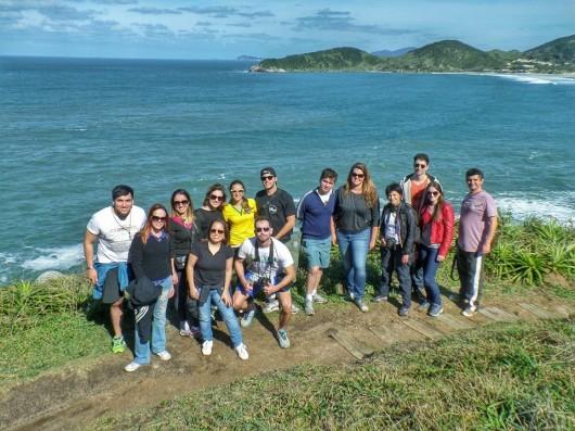 Blogueiros 1º SC na Bagagem