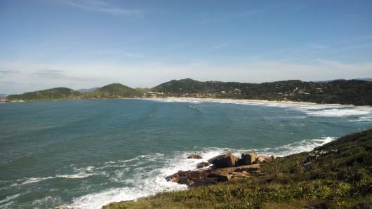 Vista da Praia do Rosa - Imbituba - SC