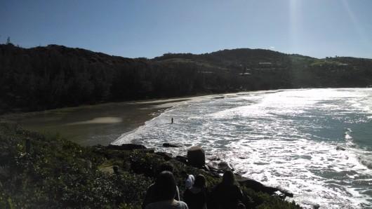 Vista da Praia Vermelha - Imbituba - SC