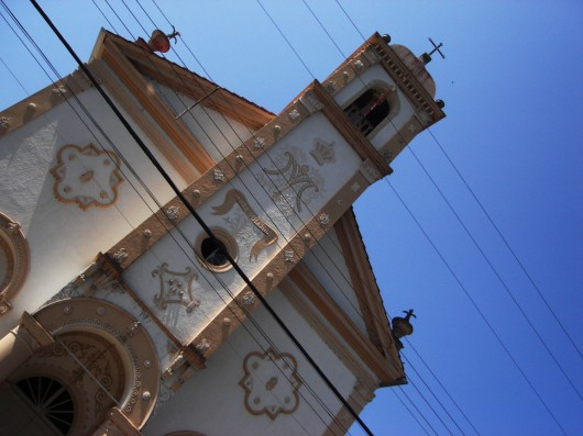 Igreja em Nova Trento