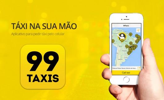 99 Táxis - Aplicativos para táxi