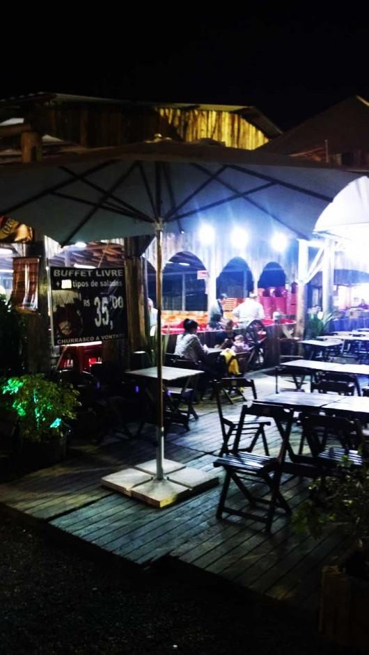 Praça de alimentação - Acampamento Farroupilha