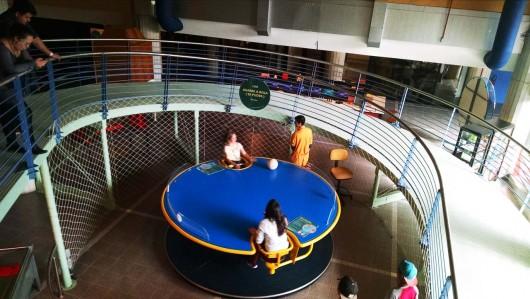 Crianças Museu de Ciências e Tecnologia da PUC-RS