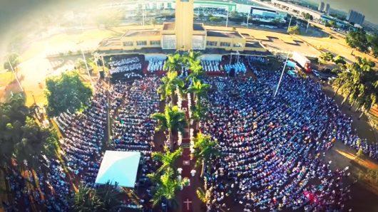 Celebração Corpus Christi em Goiânia - GO